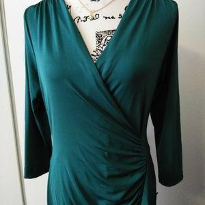 Venus emerald green dress